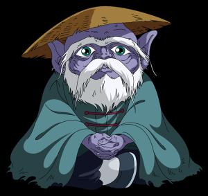 O Velho mestre de Shiryu
