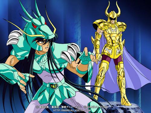 Shiryu vs Shura na Casa de Capricórnio